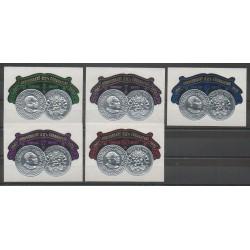 Tonga - 1972 - No 287/291 - Monnaies, billets ou médailles