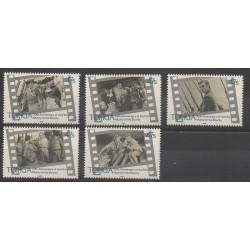 Tonga - 1985 - Nb 602/606 - Cinema