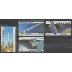 Tonga - 2000 - Nb 1163/1166 - Space