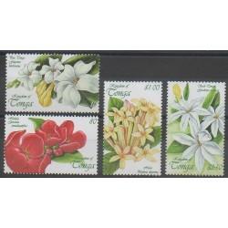 Tonga - 1999 - No 1151/1154 - Fleurs