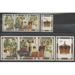 Tonga - 1997 - Nb 1091/1098 - Royalty