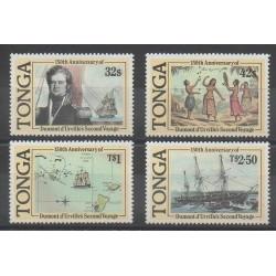 Tonga - 1987 - No 652/655 - Navigation