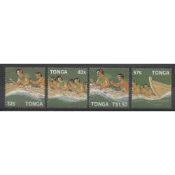 Tonga - 1987 - Nb 668/671
