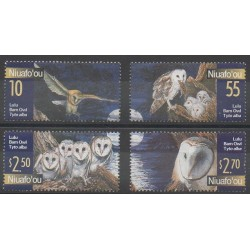 Tonga - Niuafo'ou - 2001 - No 288/291 - Oiseaux