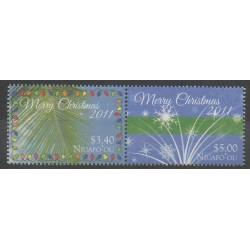Tonga - Niuafo'ou - 2011 - No 315/316 - Noël