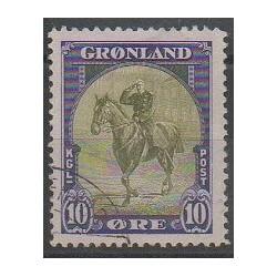 Groenland - 1945 - No 13 - Royauté - Principauté - Oblitéré
