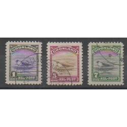 Groenland - 1945 - No 10/12 - Mammifères - Animaux marins - Oblitéré