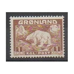 Greenland - 1938 - Nb 9 - Mamals - Polar