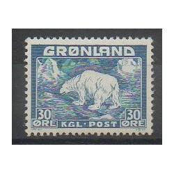 Groenland - 1938 - No 7 - Mammifères - Polaire
