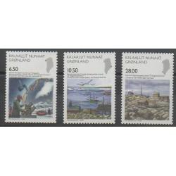 Groenland - 2008 - No 495/497 - Sciences et Techniques