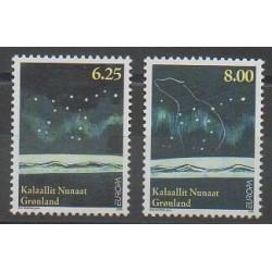 Groenland - 2009 - No 505/506 - Astronomie - Europa