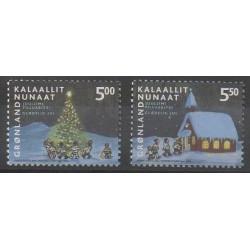 Greenland - 2003 - Nb 382/383 - Christmas