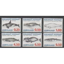 Greenland - 1996 - Nb 266/271 - Mamals - Sea animals
