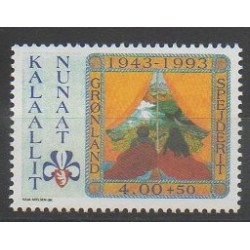Greenland - 1993 - Nb 225 - Scouts