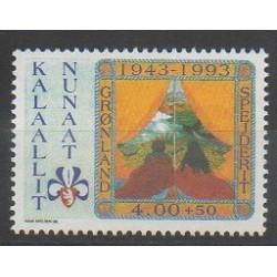 Groenland - 1993 - No 225 - Scoutisme