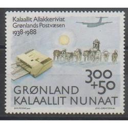Groenland - 1988 - No 173 - Service postal