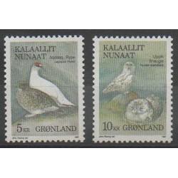 Groenland - 1987 - No 164/165 - Oiseaux