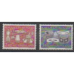 Groenland - 1987 - No 162/163 - Artisanat