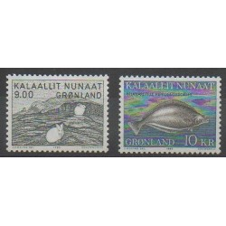Greenland - 1985 - Nb 149/150 - Sea animals - Mamals