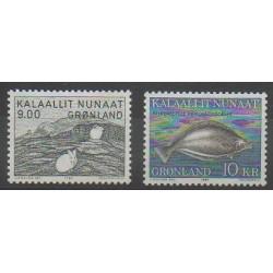 Greenland - 1985 - Nb 149/150 - Sea animals - Mamals
