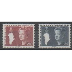 Groenland - 1985 - No 143/144 - Royauté - Principauté
