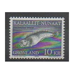 Greenland - 1984 - Nb 142 - Sea animals - Mamals