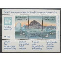 Greenland - 1987 - Nb BF1 - Polar - Exhibition