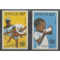 Senegal - 1986 - Nb 665/666 - Childhood - Health