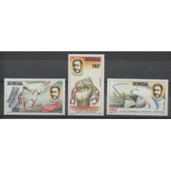 Sénégal - 1987 - No 704/706 - Droits de l'Homme