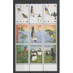 Antilles néerlandaises - 2001 - No 1280/1285 - Oiseaux