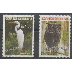 Bolivie - 2007 - No 1291/1292 - Oiseaux