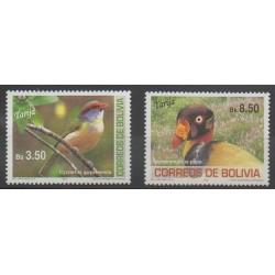 Bolivie - 2007 - No 1293/1294 - Oiseaux