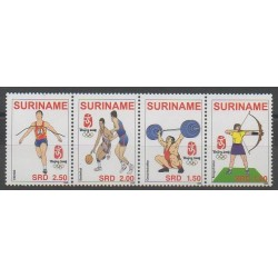Suriname - 2008 - Nb 1960/1963 - Summer Olympics