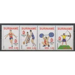Surinam - 2008 - No 1960/1963 - Jeux Olympiques d'été