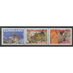Suriname - 2008 - Nb 1945/1947 - Sea animals