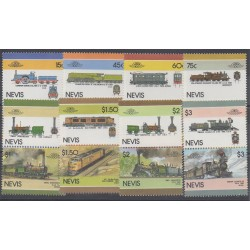 Nevis - 1986 - No 423/438 - Trains