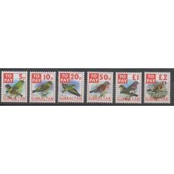 Gibraltar - 2002 - No T26/T31 - Oiseaux
