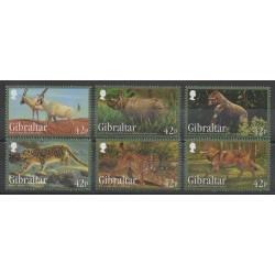 Gibraltar - 2012 - No 1513/1518 - Mammifères - Espèces menacées - WWF