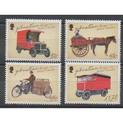 Gibraltar - 2013 - No 1549/1552 - Service postal - Transports - Europa