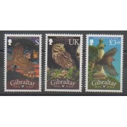 Gibraltar - 2012 - Nb 1473/1475 - Birds