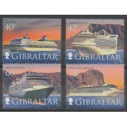 Gibraltar - 2008 - Nb 1289/1292 - Boats