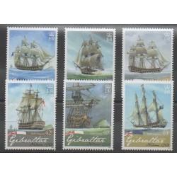 Gibraltar - 2008 - Nb 1260/1265 - Boats