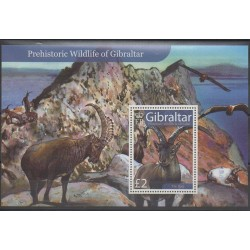 Gibraltar - 2007 - Nb BF81 - Prehistoric animals