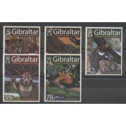Gibraltar - 2007 - Nb 1220/1224 - Prehistoric animals