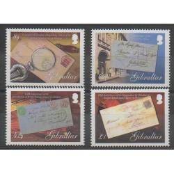 Gibraltar - 2007 - Nb 1216/1219 - Postal Service