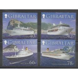 Gibraltar - 2006 - Nb 1179/1182 - Boats