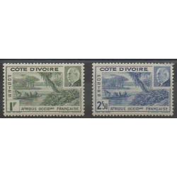 Côte d'Ivoire - 1941 - No 169/170