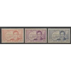 Ivory Coast - 1939 - Nb 141/143