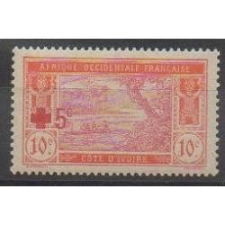 Côte d'Ivoire - 1915 - No 58