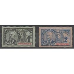 Côte d'Ivoire - 1906 - No 33/34 - Neuf avec charnière